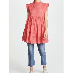 Free People Nobody Like You Dress Embroidered NWT